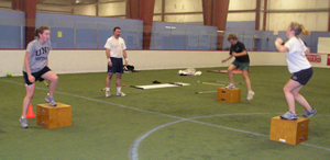 Sports conditioning for Total Human Performance